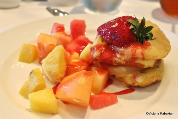 French Toast and Pineapple Stack