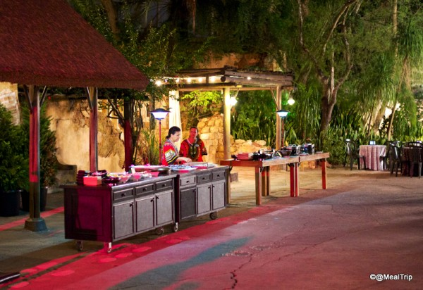 Hot Food and Dessert Stations
