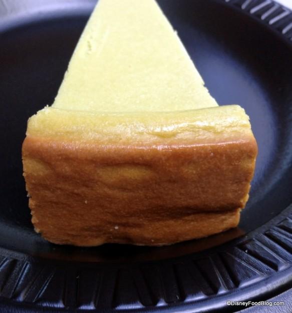End of Green Tea Cheesecake