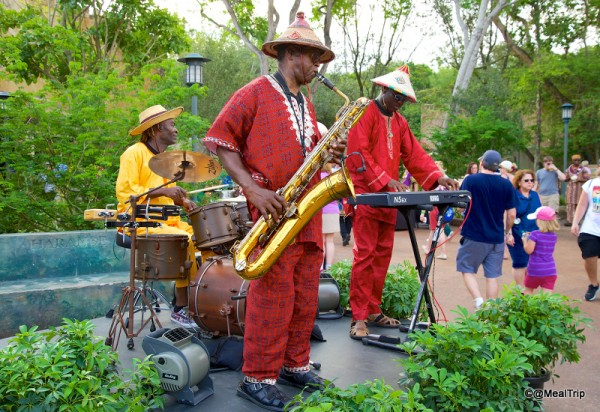 Musicians at the Welcome Party