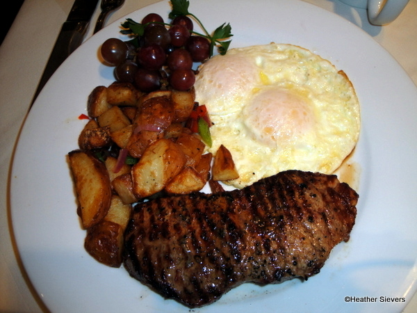 New York Steak and Eggs