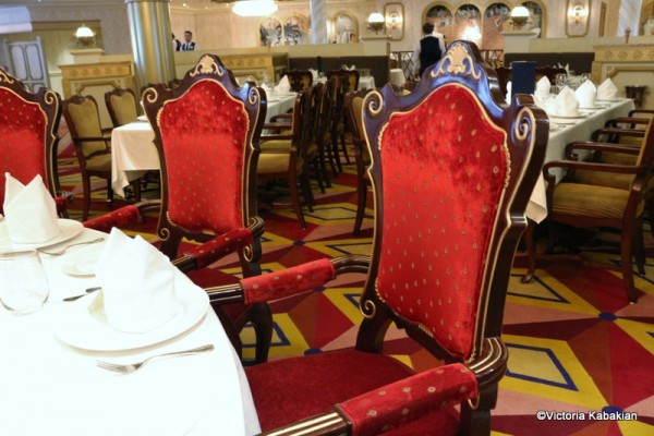 The lovely red chairs