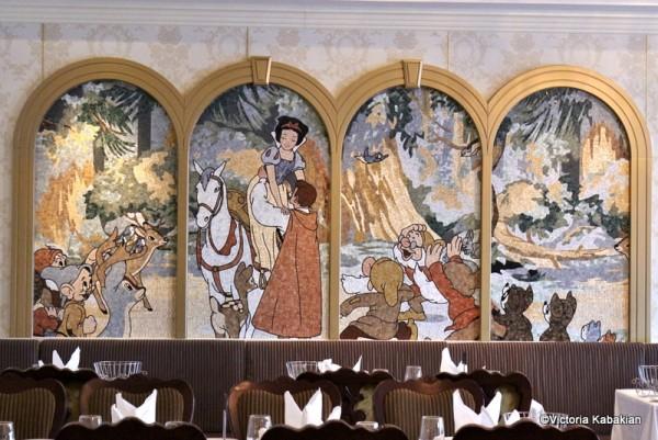 Snow White mosaic