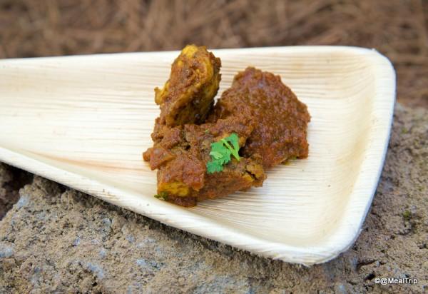 Spicy Durban Chicken -- Up Close