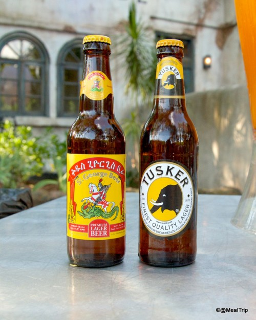 St. George Beer and Tusker Lager