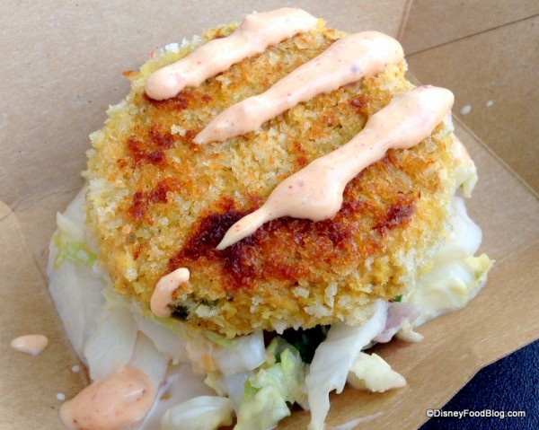 Crabless Crab Cake