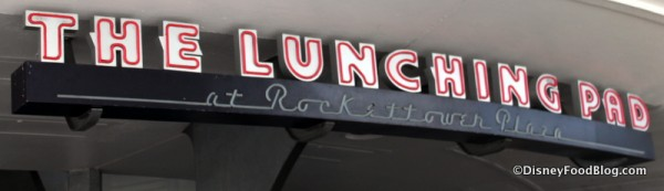 The Lunching Pad at Rocketeer Plaza