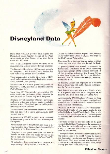 Disneyland Data
