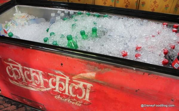 Coke freezer