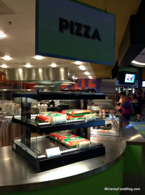 Art of Animation Pizza Station