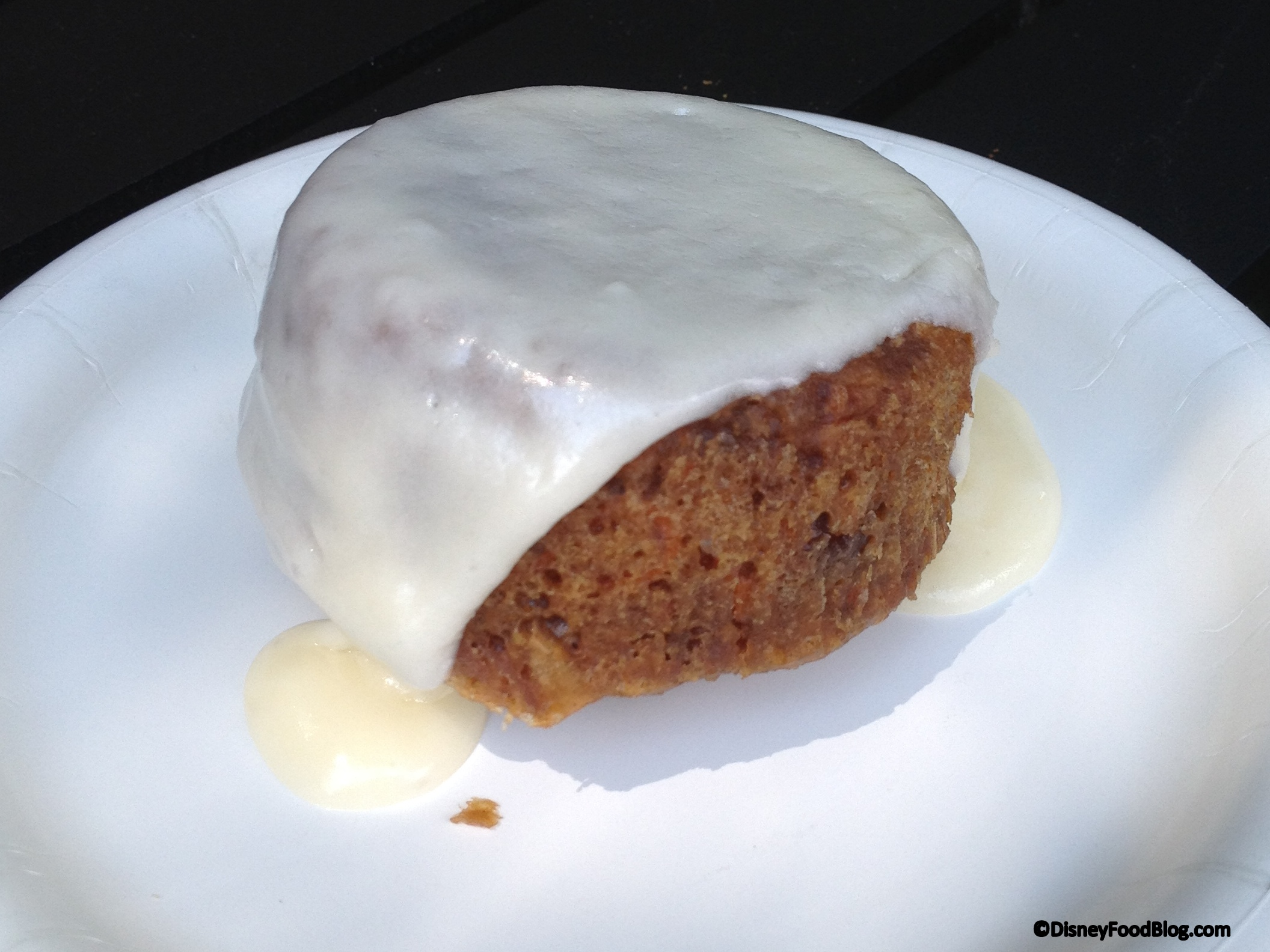 2014 epcot food and wine festival recipe warm carrot cake with fresh baked carrot cake with craisins and cream cheese icing forumfinder Images