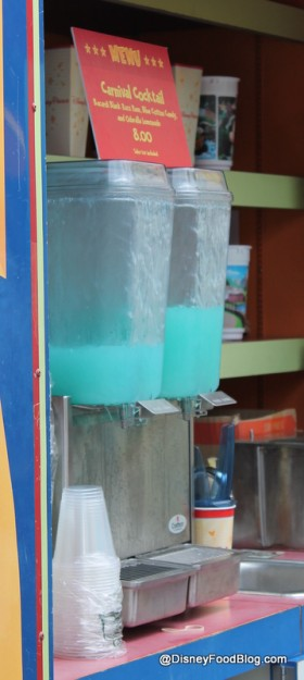 Carnival Cocktail in drink machines