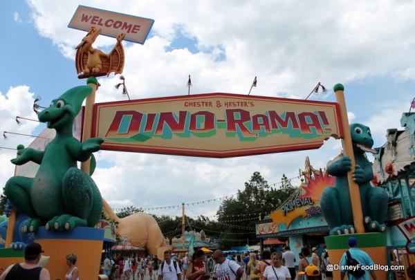 Dino-Rama Entrance