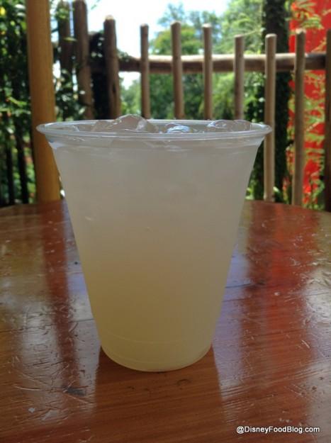 Coconut-Lychee Lemonade