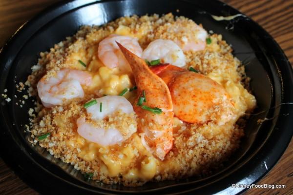 Seafood Macaroni and Cheese