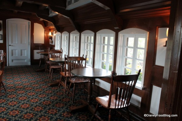 Columbia Harbour House upstairs