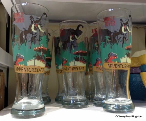 Jungle Cruise Pilsner Glasses