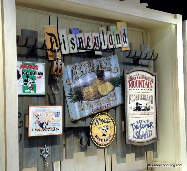 Disney Signs and artwork