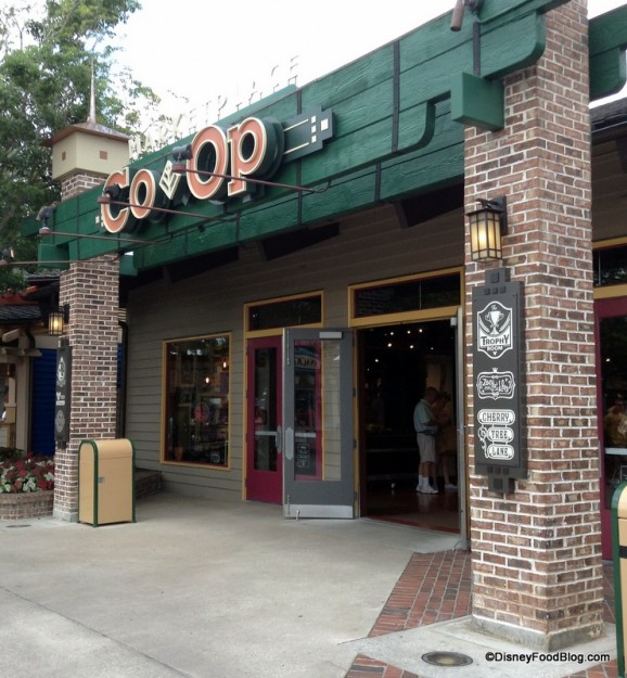 Marketplace Co-op in Downtown Disney
