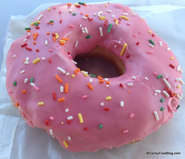 Big ol' Donut To Go With Your Cup o' Joe