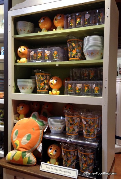 Orange Bird Section