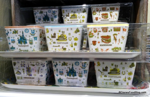 Magic Kingdom Map Appetizer Set