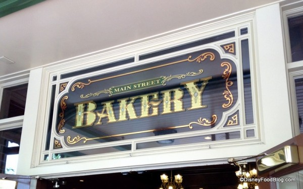 Main Street Bakery sign