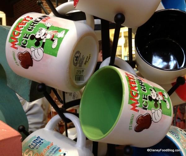Mickey Ice Cream Bar Mug
