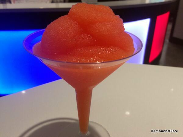 La Passion Martini Slush is NEW at the 2014 Epcot Food and Wine Festival