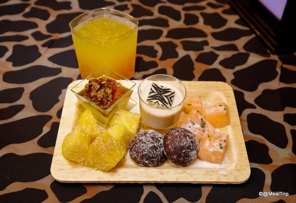 Many of the Dessert Offerings and Jungle Juice