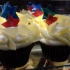 Review: Red (Velvet) White and Blue Cupcake at BoardWalk Bakery