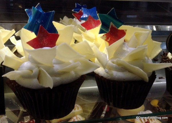 Red White and Blue Cupcake