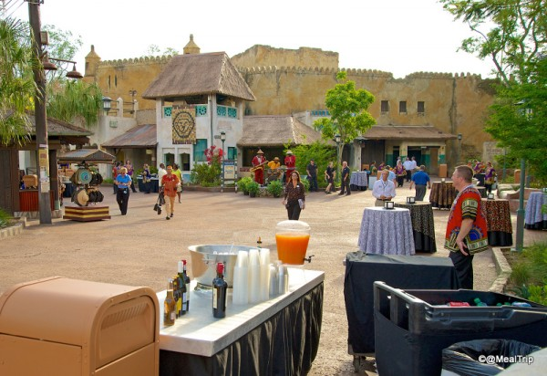 Streets of the New Harambe Street District as Guests Arrive