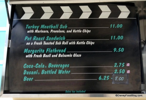 Superstar Catering Food Truck Menu changed earlier this summer