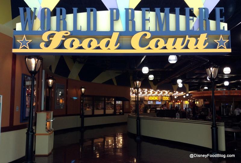 Disney All Star Movie Resort Food Court