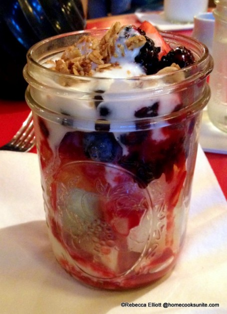 A Refreshing Alternative to a Heavy Breakfast- Fresh Fruit with Ginger Yogurt and Granola