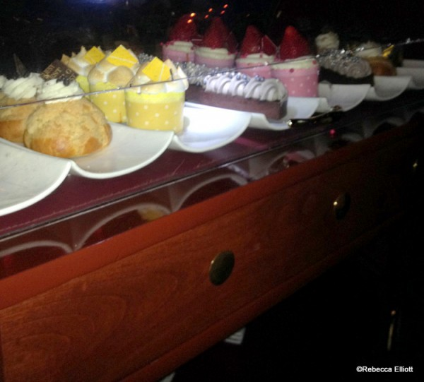 A Very Dark Dessert Cart