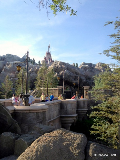 A View of the Castle from Across the Bridge