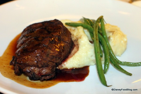 Grilled Center Cut Filet Mignon