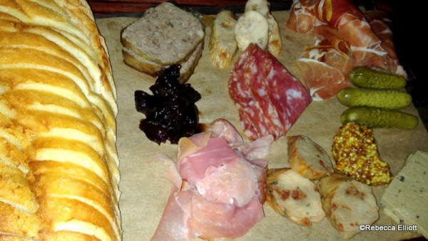 Assorted Cured Meats and Sausages
