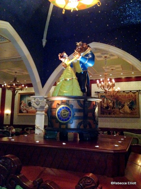 Belle and Beast Take Center Stage in the Rose Gallery