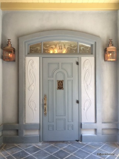 New Orleans Square Disneyland Club 33 Club 33 Entrance