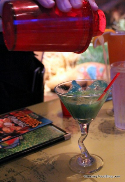 Cotton-Tini in the Glass