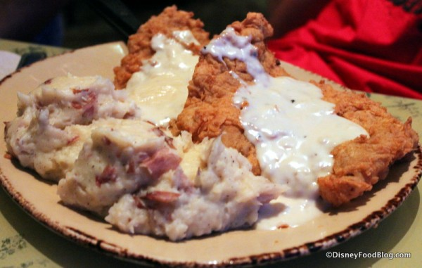 Cretaceous Chicken Fried Steak