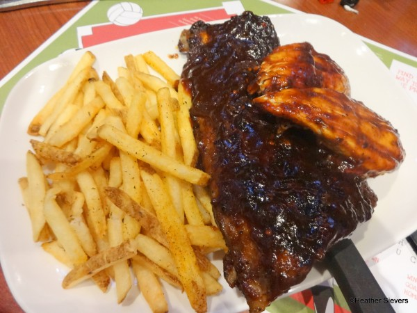 BBQ Ribs & Chicken
