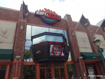 ESPN Zone Downtown Disney Anaheim