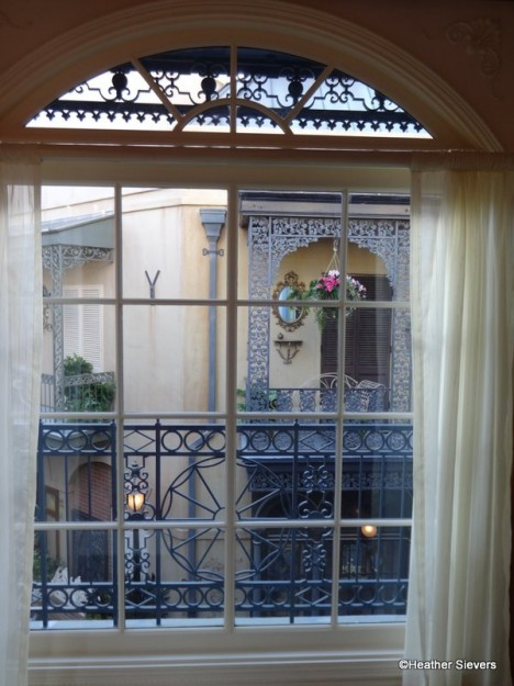 Looking Out to New Orleans Square