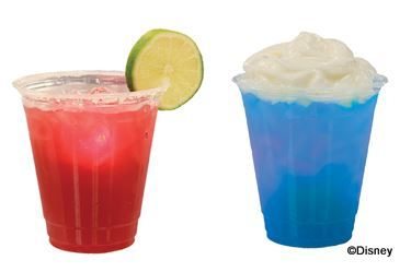 Summer Berry Margarita and Blue Dream at Disney's Hollywood Studios