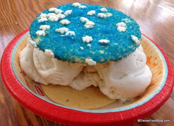 Sugar Cookie Ice Cream Sandwich