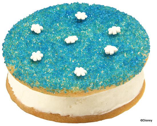 Frozen Sugar Cookie Hand Made Ice Cream Sandwich